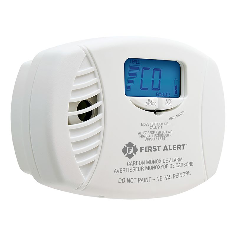 Product Photo of BRK-CO615A - First Alert CO615A Plug-in Carbon Monoxide Alarm with Battery Backup and Digital Display