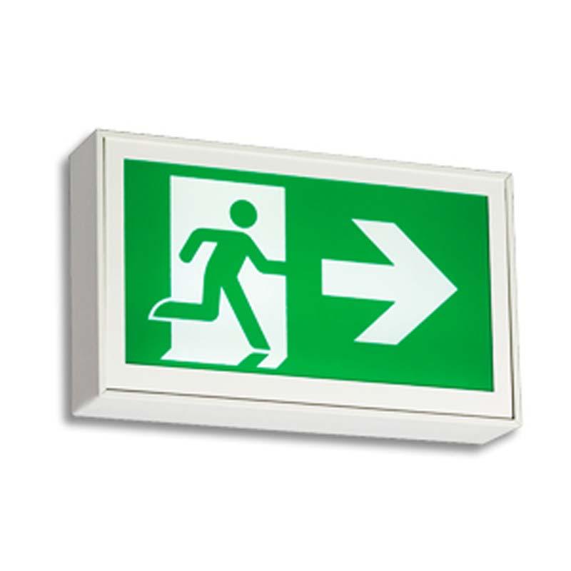 Product Photo of EA-LA-Series - Emergi-Lite/Lumacell Running Man/Pictogram Sign - Extruded Aluminum