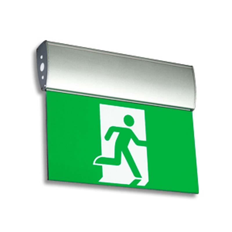 Product Photo of NA-EAE-LAE-Series - Emergi-Lite/Lumacell Running Man/Pictogram Sign - Edge-lit-Slim Profile