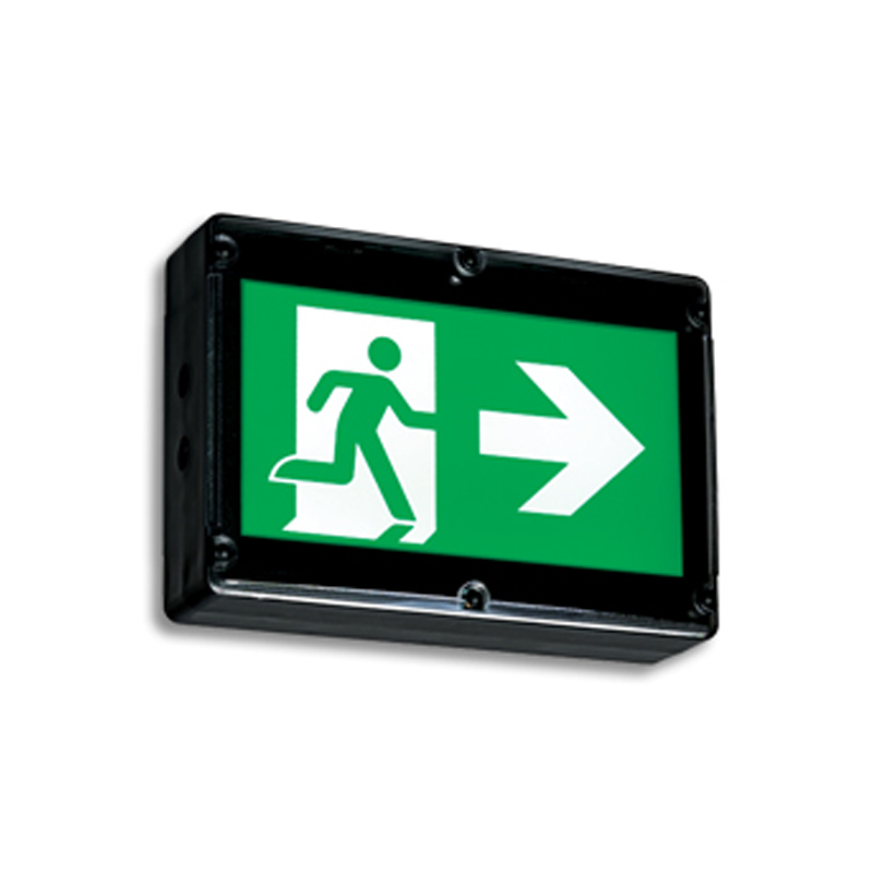 Product Photo of NA-EN-LN-Series - Emergi-Lite/Lumacell Running Man/Pictogram Sign - NEMA4X Weatherproof
