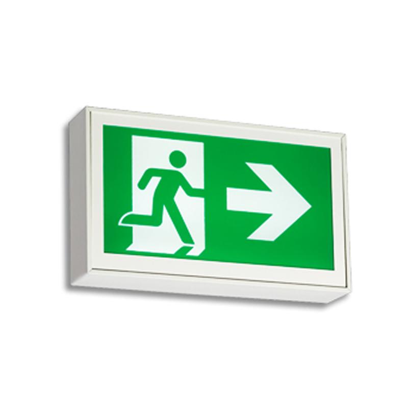 Product Photo of ES-LS-Series - Emergi-Lite/Lumacell Running Man/Pictogram Sign - Steel