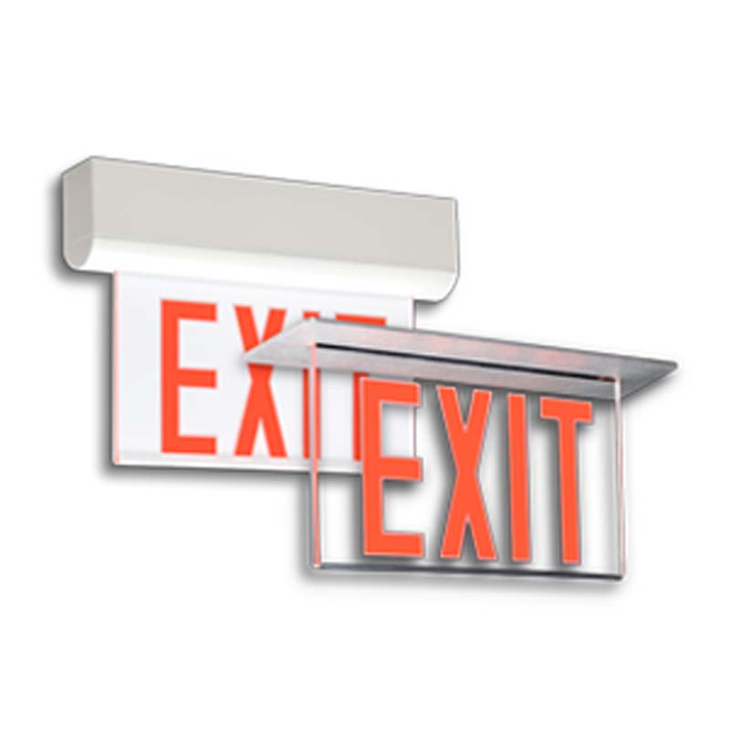 Product Photo of EX30-LER2-Series - Emergi-Lite/Lumacell Exit sign- Die-Cast EDGE-LIT