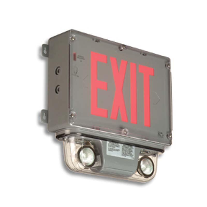 Product Photo of EXHZ-3LERHZ-Combo - Emergi-Lite/LumacellExit/Emergency Lighting Combination- HAZARDOUS location