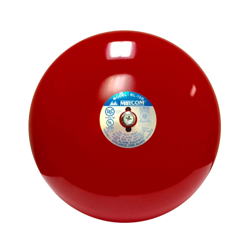 "Product Photo of 10-inch-BELL - Mircom 10"" Fire Alarm Bell"