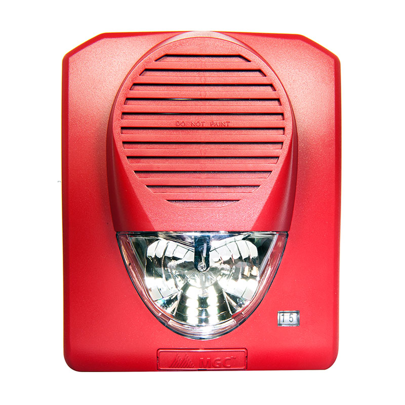 Product Photo of HORN-STROBE - Mircom FHS-340R Fire Alarm Horn/Strobe