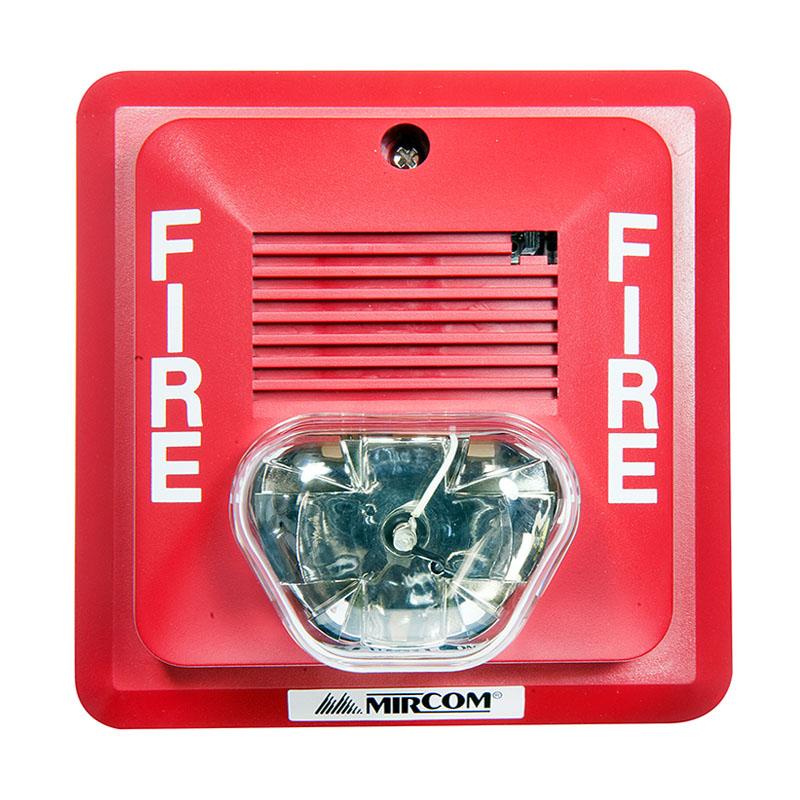 Product Photo of STROBE - Mircom FS-340R Fire Alarm Strobe