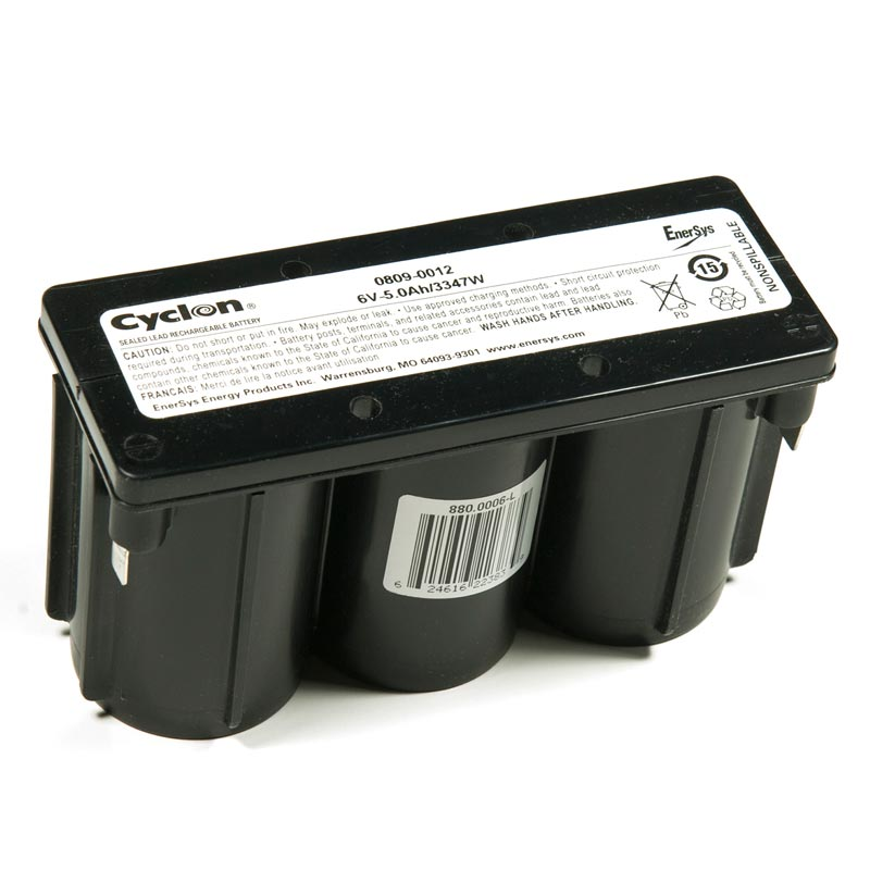 Product Photo of GATES-6V-5.0AH - Gates 6V 5.0AH CYCLON BATTERIES