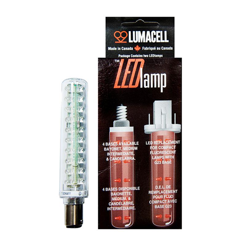 Product Photo of LED-L3B - 2.5W LED BAYONET BASE LAMP -L3B