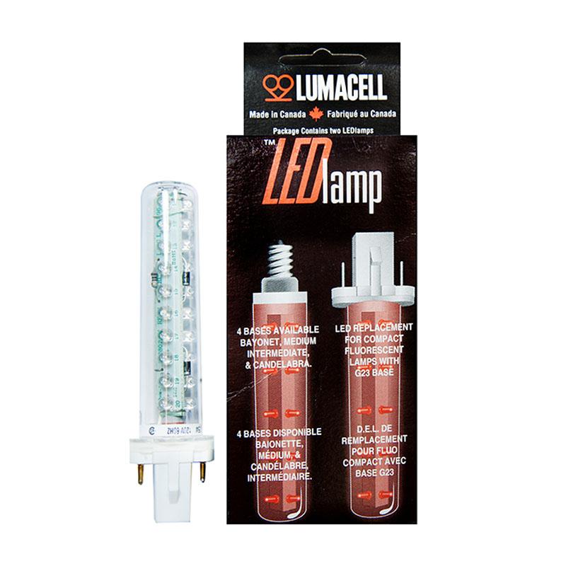 Product Photo of LED-L3F - 2.5W LED FLUORESCENT BASE LAMP -L3F