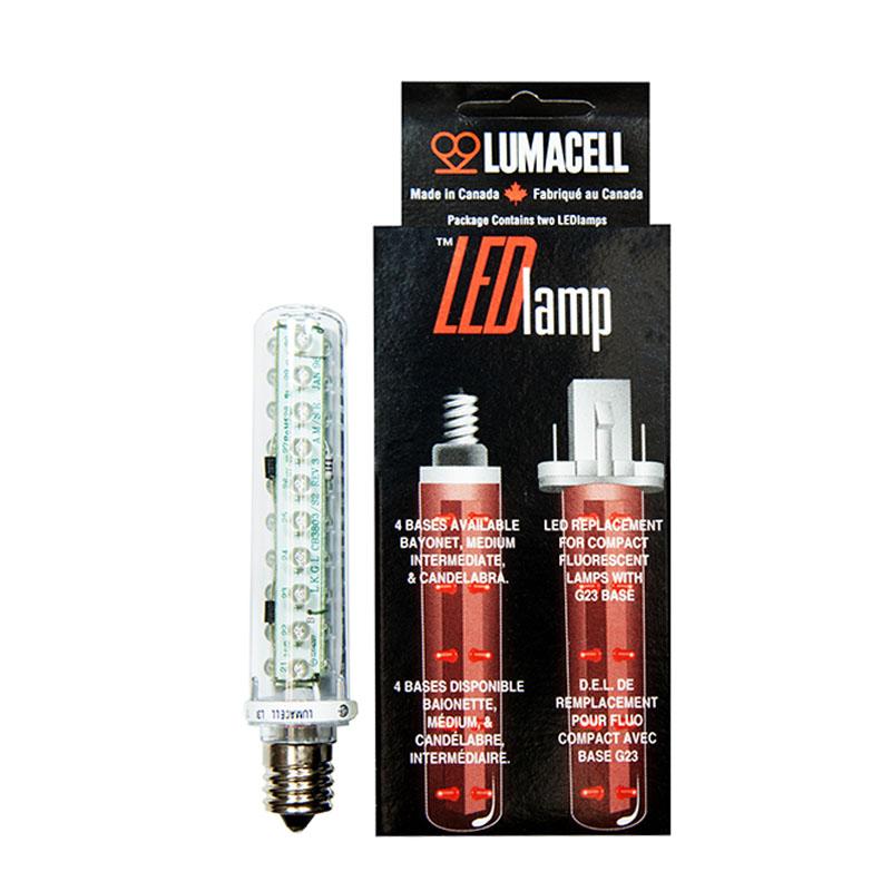 Product Photo of LED-L3I - 2.5W LED INTERMEDIATE BASE LAMP -L3I