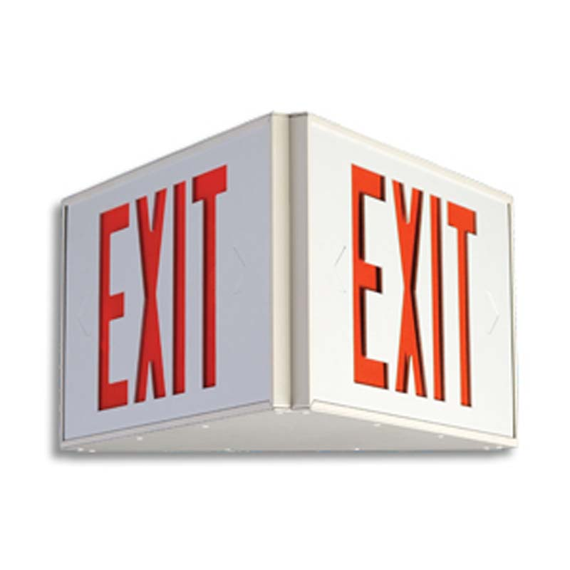 Product Photo of LPEX-LER450-Series - Emergi-Lite/Lumacell Exit sign- TRIANGULAR
