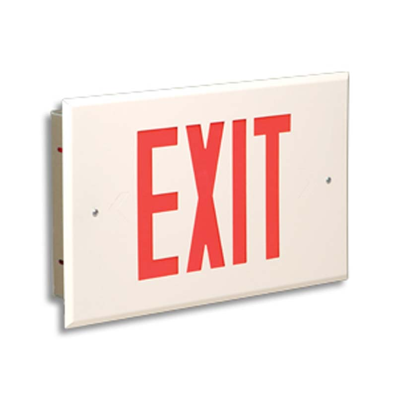 Product Photo of LPEX54-LER400R-Series - Emergi-Lite/Lumacell Exit sign- Recessed