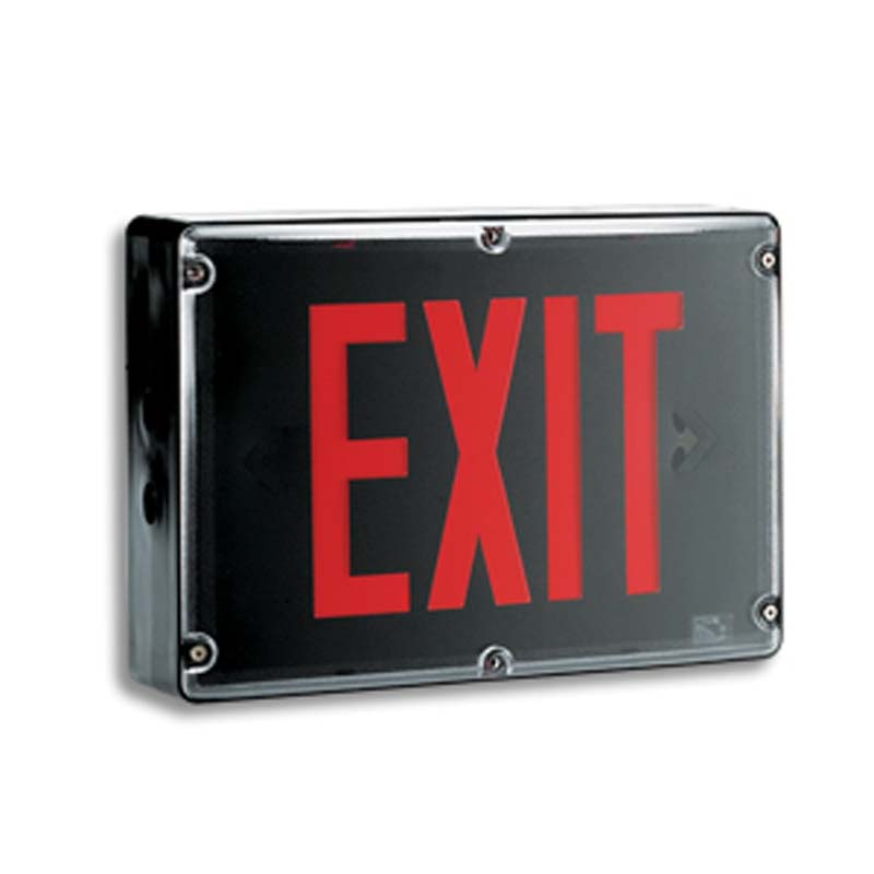 Product Photo of NA-LPEX600-LER3000-Series - Emergi-Lite/Lumacell Exit sign- NEMA4X WEATHERPROOF