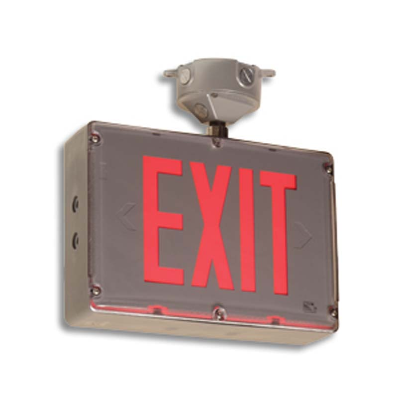Product Photo of LPEXHZ-LERHZ-Series - Emergi-Lite/Lumacell Exit sign- HAZARDOUS-LPEXHZ
