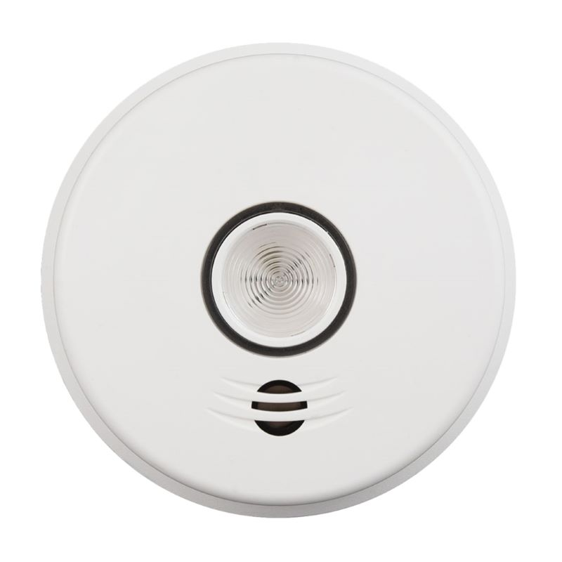 Product Photo of Kidde-P4010LDCS-WCA - Kidde P4010LDCS-WCA10-Yr Battery Operated Wireless Talking Smoke Alarm and LED Safety Light