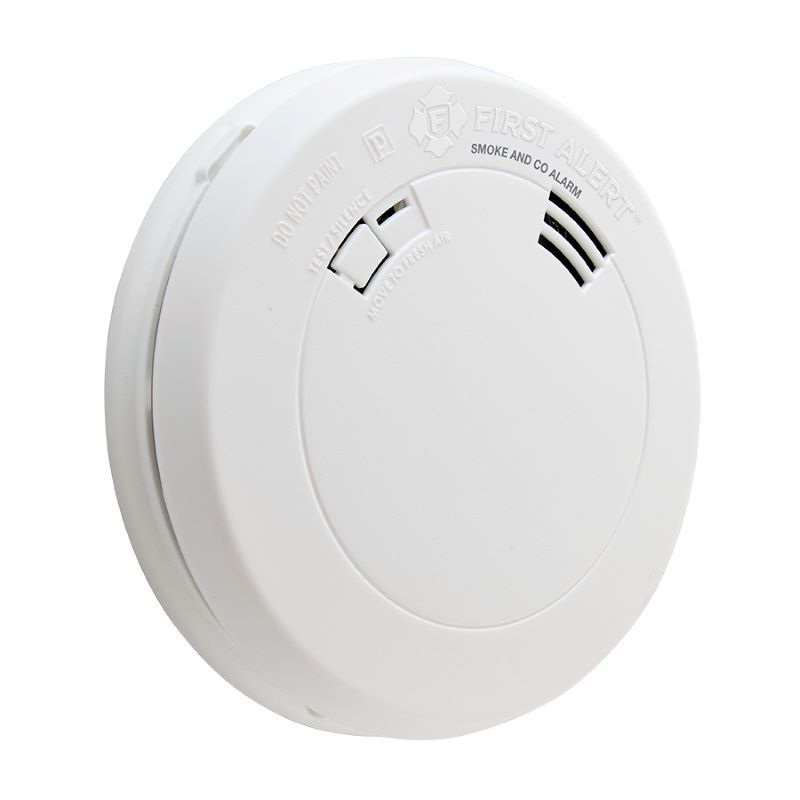 Product Photo of BRK-PRC710A - First Alert PRC710A 10-Year Battery Operated Photoelectric Smoke and CO Alarm