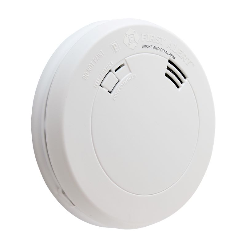 Product Photo of BRK-PRC700VA - First Alert PRC700VA Battery Operated Photoelectric Smoke and CO Alarm with Voice