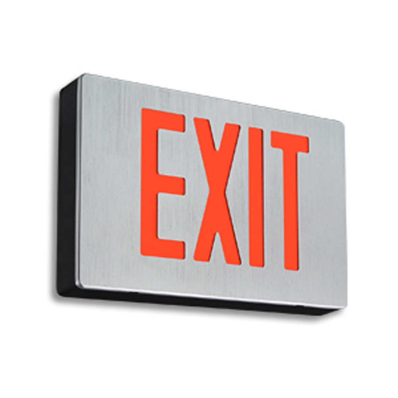 Product Photo of PRE-GRAD-Series - Emergi-Lite/Lumacell Exit sign- DIE-CAST-PRE
