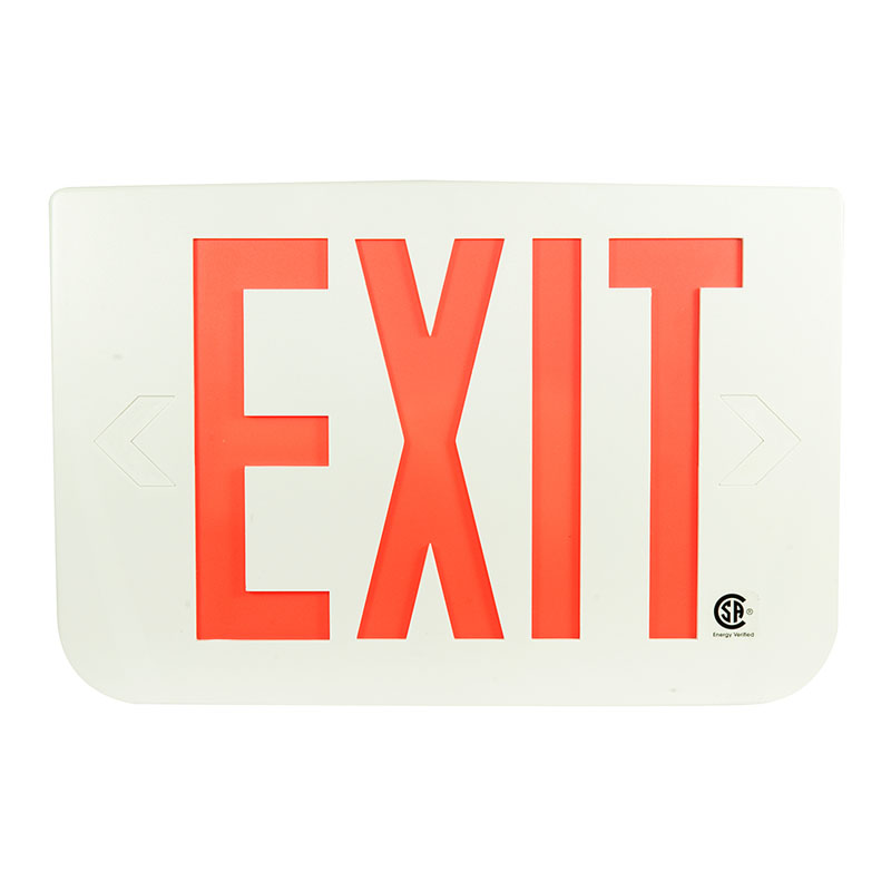 Product Photo of PREWIN3R - Emergi-Lite/Lumacell Exit sign -PLASTIC, self-powered