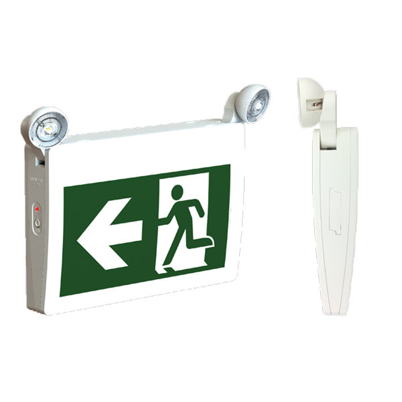 Product Photo of PRMPN-2-Series - Stanpro Running Man/Pictogram Combination- Plastic, All LED