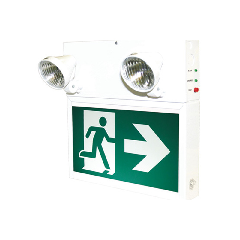Product Photo of PRMS60360-2N09T - Stanpro Running Man/Pictogram Combination Units -Steel, 6 Volt 36 Watt