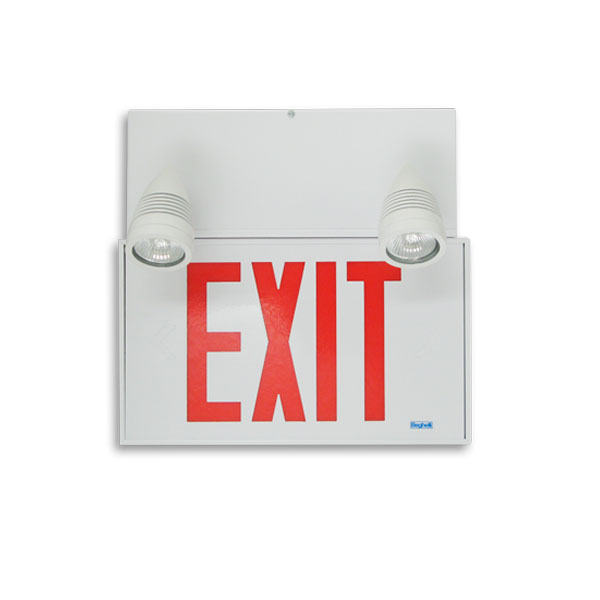 Product Photo of Quadra-Exit-Combo-Series - Beghelli Quadra Exit Combination Series - Extruded Aluminum