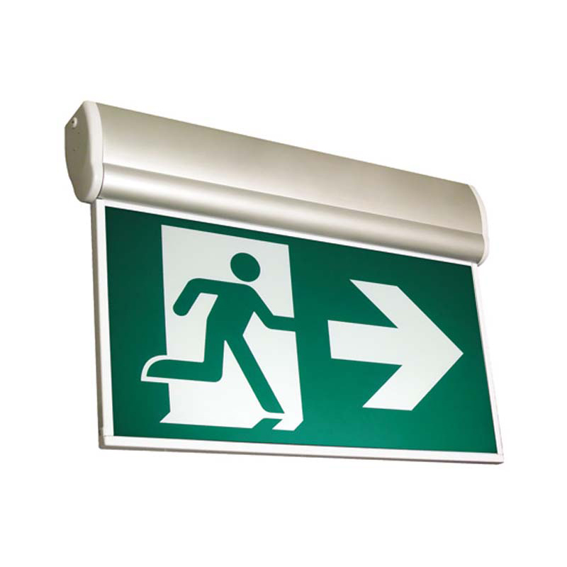 Product Photo of RMEA-Series - Stanpro Running Man/Pictogram Sign - Edge-Lit