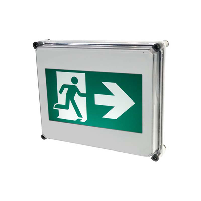 Product Photo of NA-RMR-Series - Stanpro Running Man/Pictogram Sign - NEMA4X Weatherproof