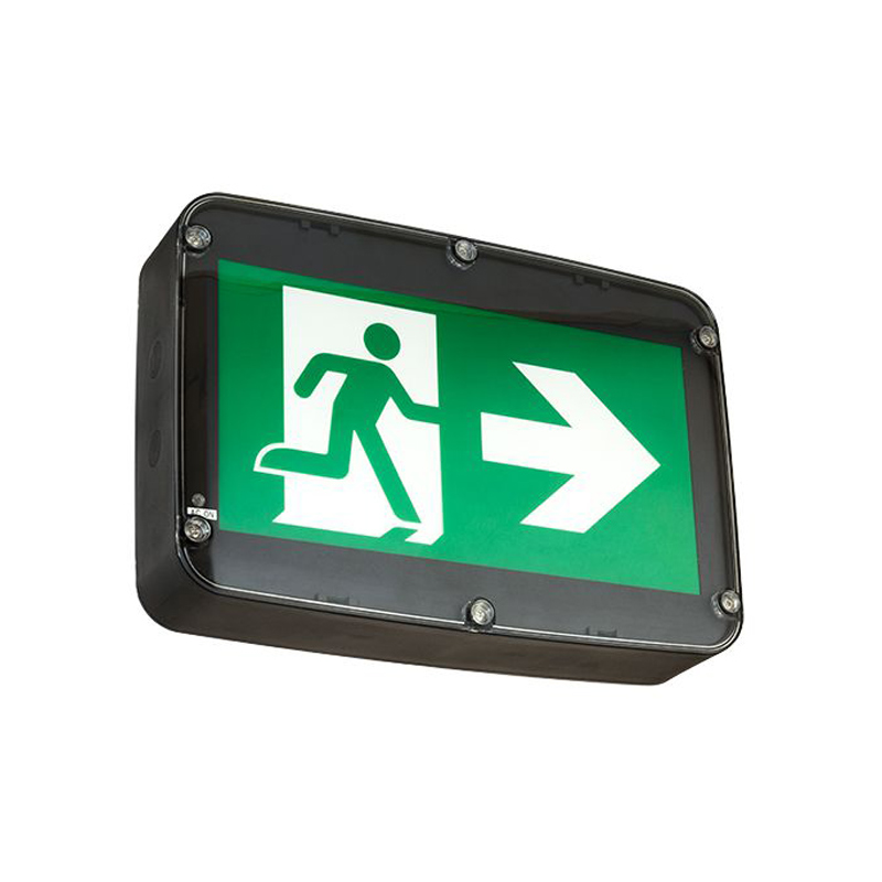 Product Photo of NA-RMRN-Series - Stanpro Running Man/Pictogram Sign - Wet Locations