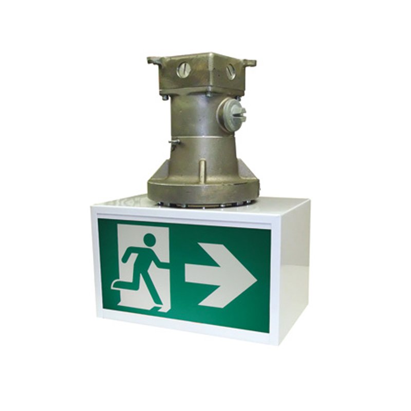 Product Photo of RMY-Series - Stanpro Running Man/Pictogram Sign - Hazardous Locations-Strictest Locations