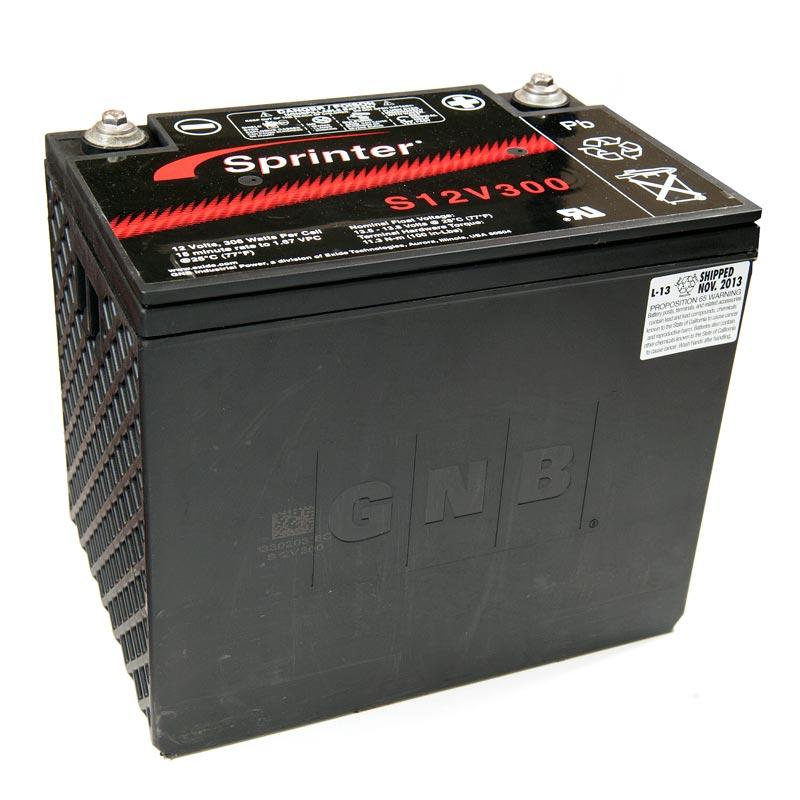 Product Photo of NA-S-12V-300 - EXIDE SPRINTER S12V300 SEALED LEAD ACID BATTERY