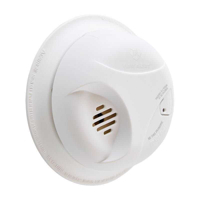 Product Photo of BRK-SA303CNA - BRK SA303CNA 9V Battery Operated Ionization Smoke Alarm