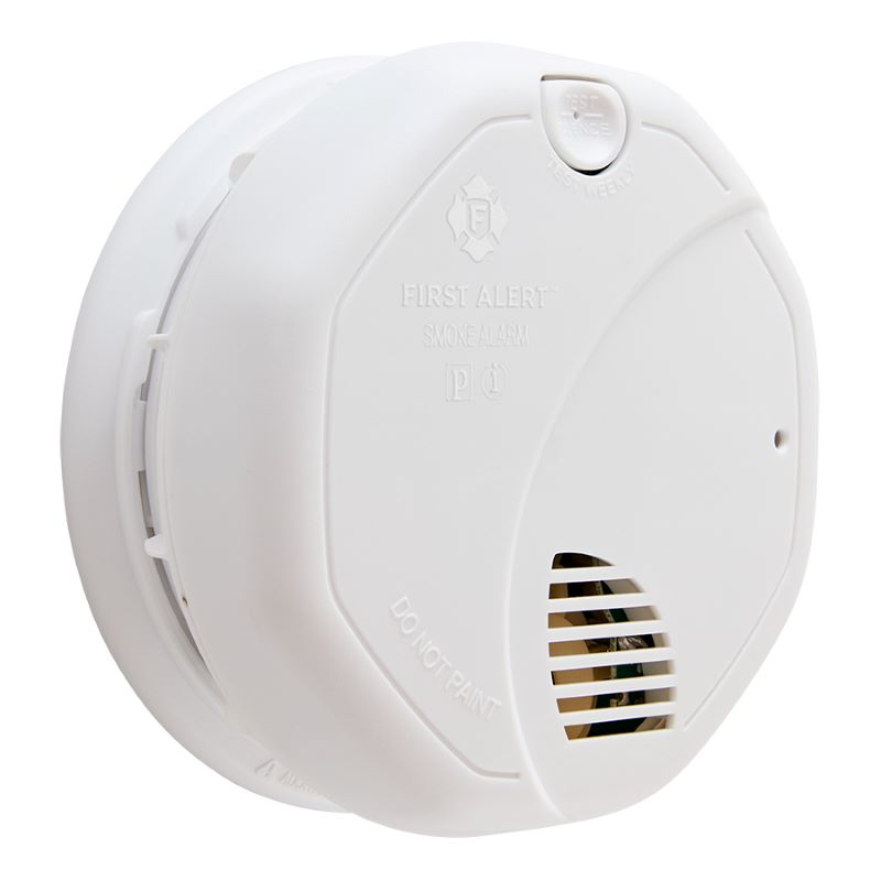Product Photo of BRK-SA3210A - BRK SA3210A 10-Year Sealed Battery Operated Photoelectric and Ionization Smoke Alarm