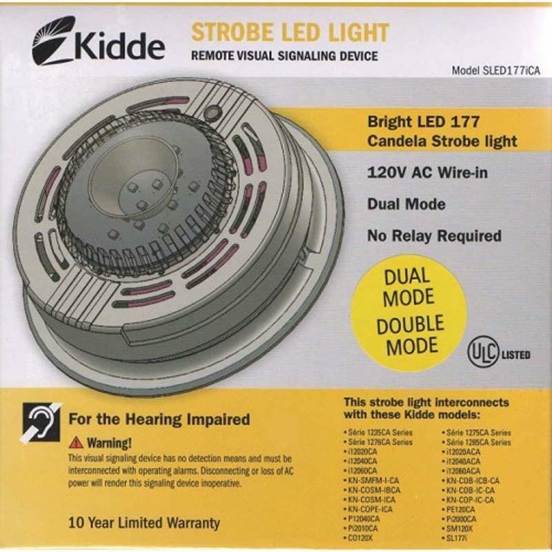 Product Photo of KIDDE-SLED177i - Kidde SLED177i Strobe Light