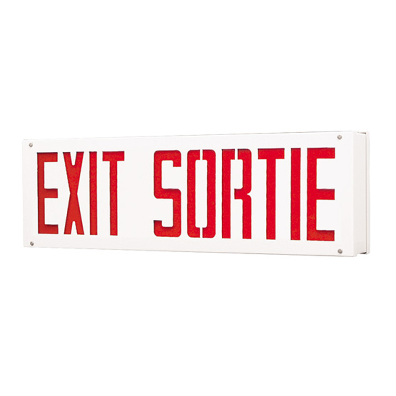 Product Photo of SLESV-SLSEV-Series - Stanpro BILINGUAL Exit/Sortie Signs - Vandal Resistant