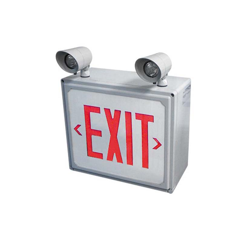 Product Photo of SPEXH-Combo - Stanpro Exit/Emergency lighting Combination units- HAZARDOUS