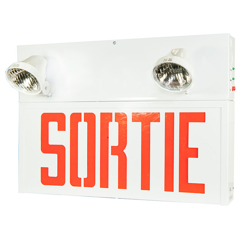 Product Photo of SPSRS-Combo - Stanpro Sortie/Emergency lighting Combination units -STEEL