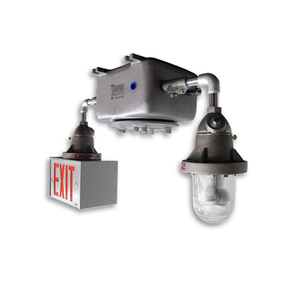 Product Photo of Sicura-Exit-Combo-Series - Beghelli Exit Combination - Hazardous 12v or 24V