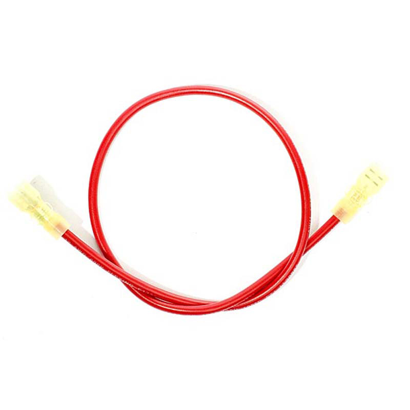 Product Photo of WIRES-ELS200211 - E.L.S. Wire Connectors - two red Female - 16 1/2""