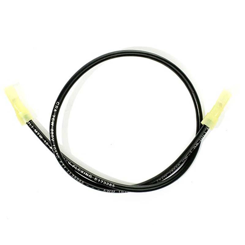 Product Photo of WIRES-ELS200212 - E.L.S. Wire Connectors - two black Female - 16 1/2""