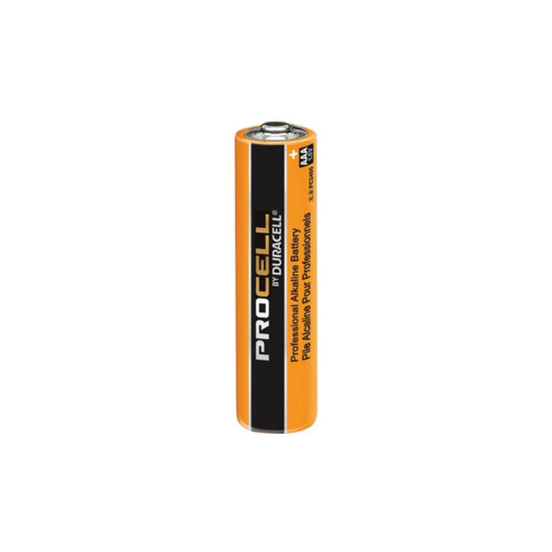 Product Photo of DURACELL-PC2400-AAA - Duracell Procell 'AAA'  Alkaline Battery