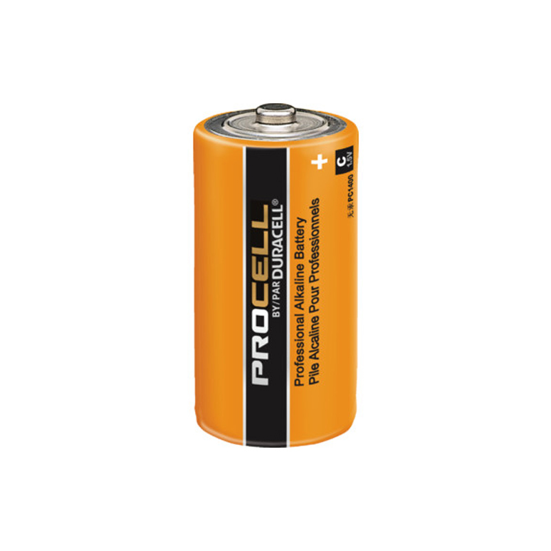 Product Photo of DURACELL-PC1400-C - Duracell Procell 'C' Alkaline Battery