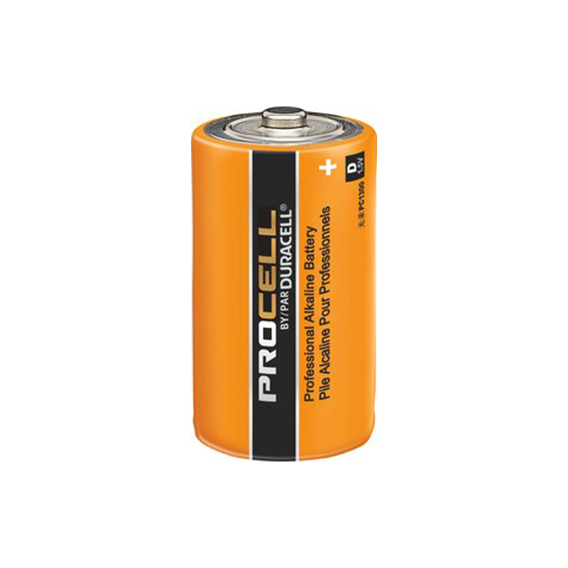 Product Photo of DURACELL-PC1300-D - Duracell Procell 'D' Alkaline Battery