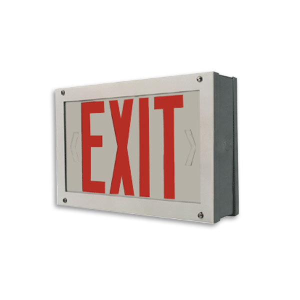 Product Photo of Forte-Series - Beghelli Forte Exit Sign - Vandal Resistant