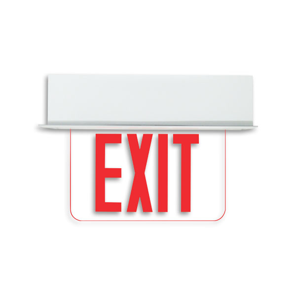 Product Photo of Guida-Plus-Series - Beghelli Edgelit Exit Sign- Guida Plus