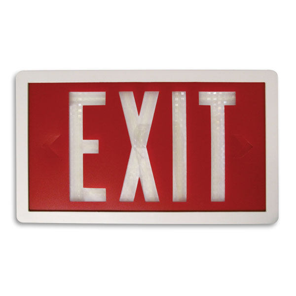 Product Photo of Maxima-Series - Beghelli Maxima Exit Sign -Power Free