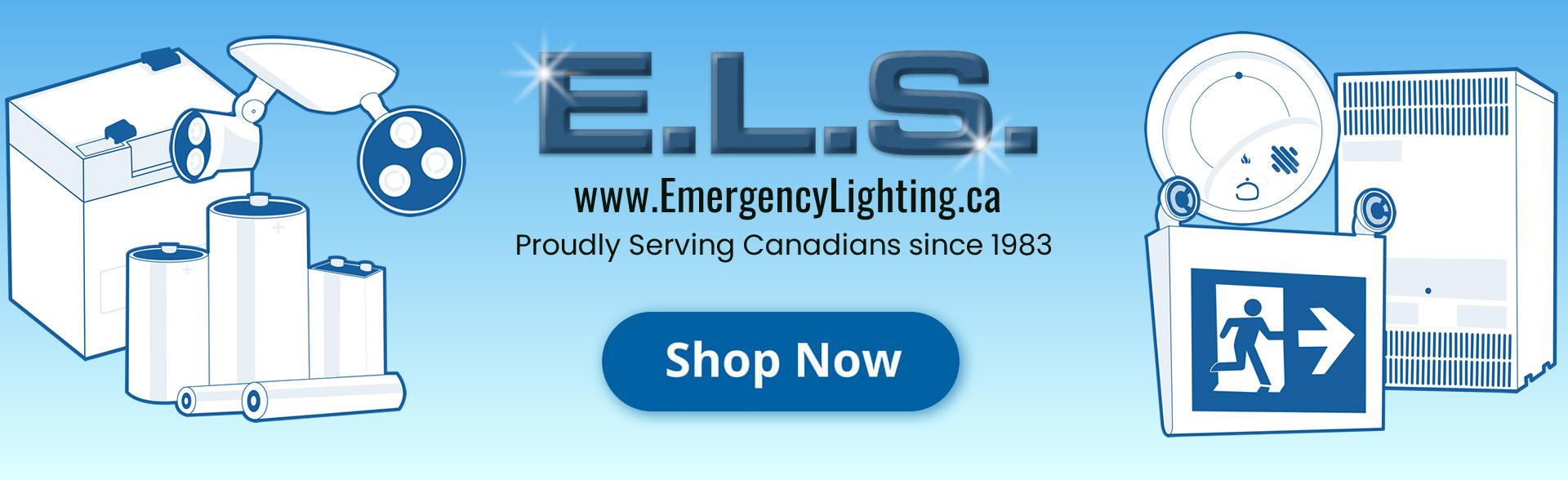 ELS - Proudly Serving Canadian sine 1983